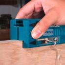 Инструмент за рязане на мебелен кант VIRUTEX AU93, дебелина на канта до 0.6мм, широчина на обрязване 40мм-двустранно - small, 10953