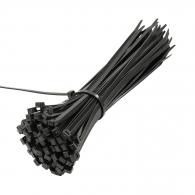 Кабелна връзка FRIULSIDER 36300p 4.8х200мм, черна, 100бр. в пакет