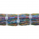 Кабелна връзка FRIULSIDER 36300m 3.6х300мм, бяла, 100бр. в пакет - small, 110731
