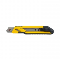 Макетен нож STANLEY 18x180мм, пластмасов корпус, метална глава