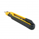 Макетен нож STANLEY 18x180мм, пластмасов корпус, метална глава - small, 96555