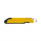 Макетен нож STANLEY 18x180мм, пластмасов корпус, метална глава - small, 96557