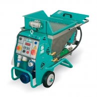 Машина за полагане на мазилка IMER SMALL 50 ES, 1500W, 0.8-14л/мин, 50л, без вибросито