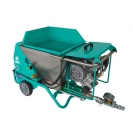 Машина за полагане на мазилка IMER SMALL 50 ES, 1500W, 0.8-14л/мин, 50л, без вибросито  - small, 134681