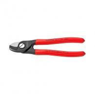 Ножица за кабели KNIPEX 165мм, ф15мм, CS, еднокомпонентна дръжка