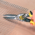 Ножица за ламарина STANLEY FatMax 300мм, 1.2мм, Cr-Mo, права, усилена - small, 20300