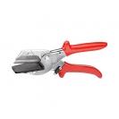 Ножица за лентов кабел KNIPEX 215мм, 56мм, еднокомпонентна дръжка - small