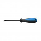 Отверткa кръстата UNIOR PH0 3.0х145/60мм, CrV-Mo, трикомпонентна дръжка - small