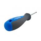 Отверткa кръстата UNIOR PH0 3.0х145/60мм, CrV-Mo, трикомпонентна дръжка - small, 93457