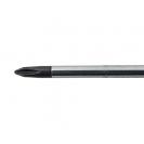 Отверткa кръстата UNIOR PH0 3.0х145/60мм, CrV-Mo, трикомпонентна дръжка - small, 93458