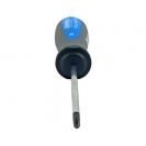 Отверткa кръстата UNIOR PH0 3.0х145/60мм, CrV-Mo, трикомпонентна дръжка - small, 93460