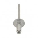 Попнит алуминиев BRALO DIN7337C 4.8x27/D14.0мм, широка периферия, 150бр. в кутия - small, 116188