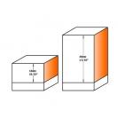 Прав фрезер със сменяеми пластини CMT D=19мм I=30мм L=74мм S=8мм Z=2, карбид, RH - small, 19240