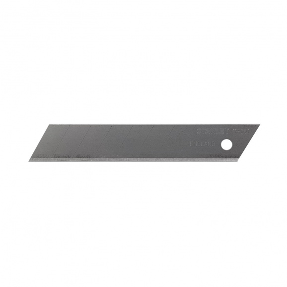 Резервно острие за макетен нож STANLEY 18x110мм, чупещи се 8 елемента, 10бр в блистер
