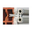 Скоба двустранна с дюбел FRIULSIDER 51502 ф16/8х25мм, пластмасова, 100бр. в кутия - small, 139545