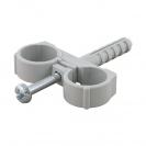 Скоба двустранна с дюбел FRIULSIDER 51502 ф16/8х25мм, пластмасова, 100бр. в кутия - small, 140151