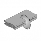 Диск с твърдосплавни пластини CMT 190/2.0/30 Z=40, за рязане на цветни метали и строителна стомана - small, 87639