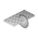 Диск с твърдосплавни пластини CMT 190/2.0/30 Z=40, за рязане на цветни метали и строителна стомана - small, 87641