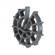 Фиксатор REUSS-SEIFERT Minifix 10/4-8, кръгъл пластмасов за вертикална армировка