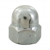 Гайка калпачата DIN1587 M8, кл.5, Zn, 600бр. в кутия