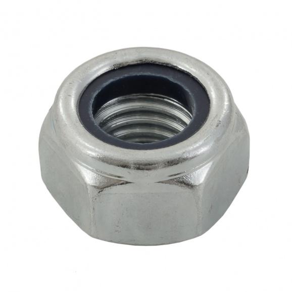 Гайка стопорна DIN985 M5, кл.8, Zn, 2000бр. в кутия
