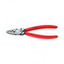 Клещи кербовъчни KNIPEX 0.25-16мм2, за изолирани кабелни накрайници, AWG 20-5, еднокомпонентни дръжки - small