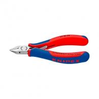 Клещи резачки KNIPEX 115мм, ф0.3-1.3мм, CS, двукомпонентнa дръжкa