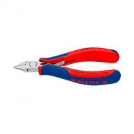 Клещи резачки KNIPEX 115мм, ф0.3-1.0мм, CS, двукомпонентнa дръжкa