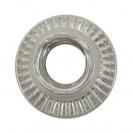 Нит гайка BRALO М5/L=12.0мм-Al, алуминиева с плоска периферия, 500бр. в кутия - small, 116872