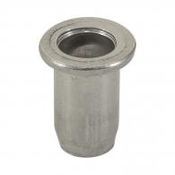 Нит гайка BRALO М5/L=12.0мм-Al, алуминиева с плоска периферия, 500бр. в кутия