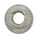 Нит гайка BRALO М6/L=14.5мм-Al, алуминиева с плоска периферия, 250бр. в кутия - small, 116875