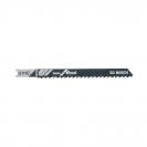 Нож за прободен трион BOSCH U111C 3.0х92/67мм, за дървесина, HCS, U-захват - small