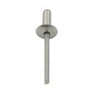Попнит алуминиев BRALO DIN7337C 4.0x8/D12.0мм, широка периферия, 500бр. в кутия - small, 116062