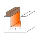 Прав фрезер с лагер CMT D=16мм I=20мм L=57мм S=8мм Z=2, HW, RH - small, 19915
