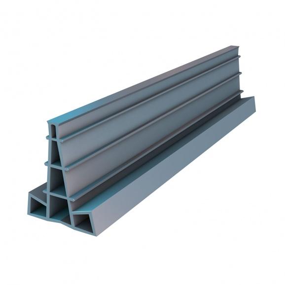 Профил за фуги REUSS-SEIFERT Fugenfix 40мм, L=2500мм сив, 50м в пачка