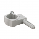 Скоба едностранна с дюбел FRIULSIDER 51500 ф26/10х40мм, пластмасова,  50бр. в кутия - small, 139508
