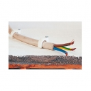 Скоба за кабели с пирон FRIULSIDER STC 51301 7-8мм, пластмасова, 300бр. в кутия - small, 138808
