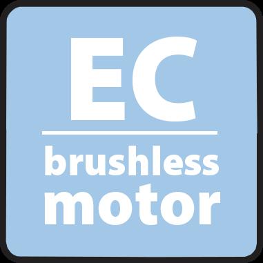 Безчеткова технология EC мотор