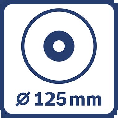 Диаметър шлифовъчния диск 125