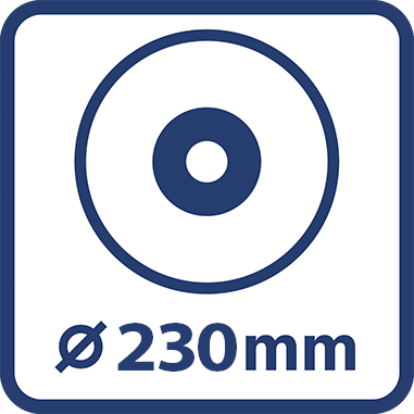 Диаметър шлифовъчния диск 230