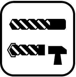 Две функции - Пробиване, пробиване с удар