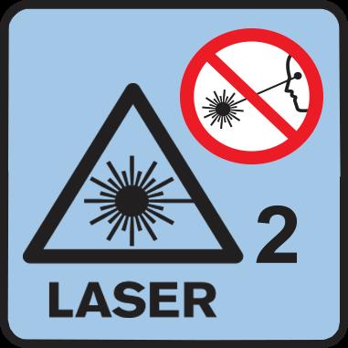 Клас на лазера 2R