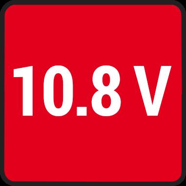 Напрежени 10.8V