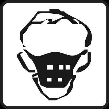 Носете противопрахова маска