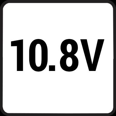 Волтаж на машината 10.8V